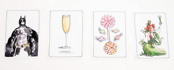 NoMad Hotel's drink card game